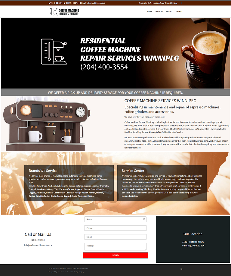 Coffee Machine Service