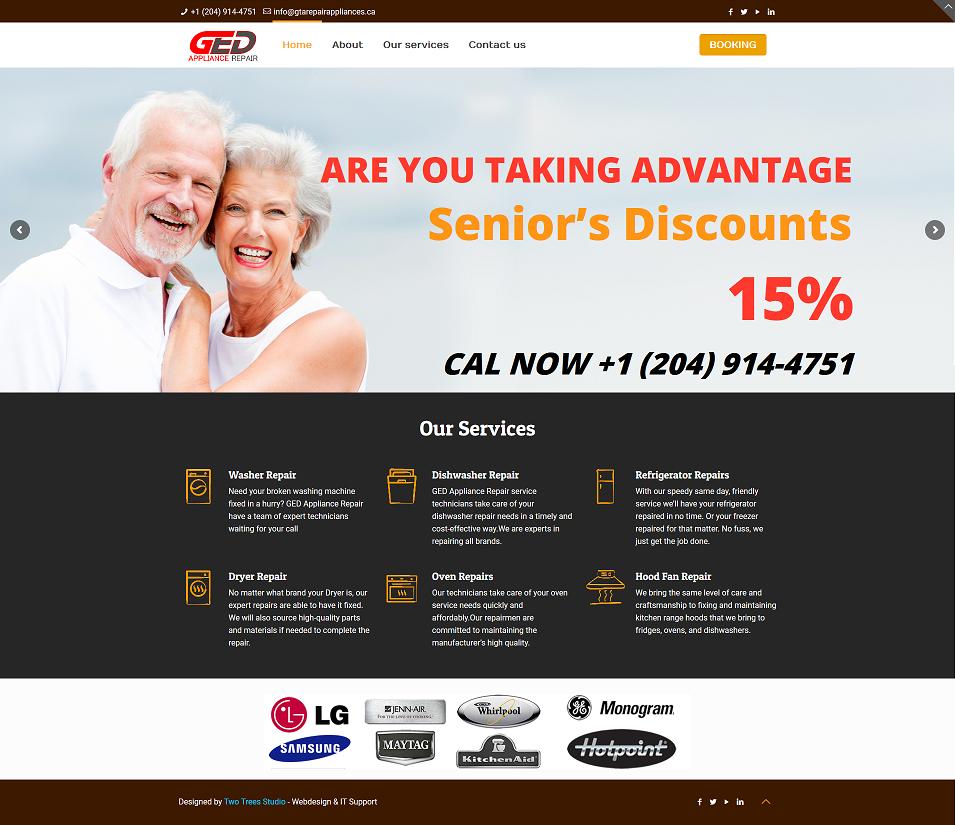 GED Appliance Repair