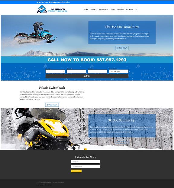 Murphy's Snowmobile Rentals