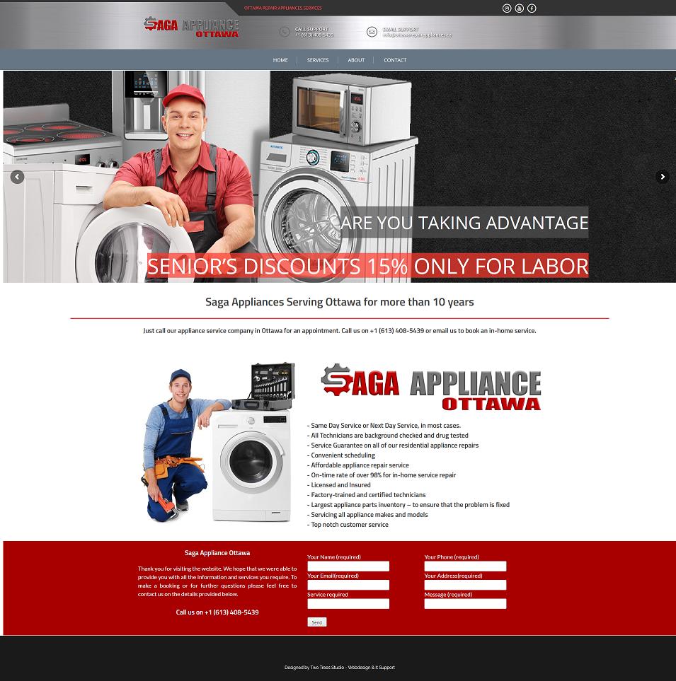 Saga Appliance