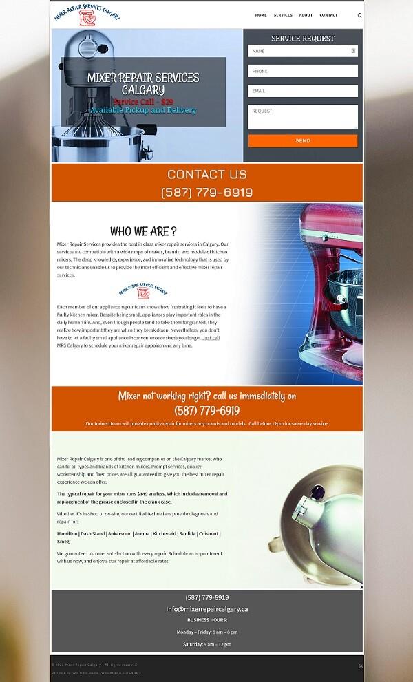 Mixer Repair Calgary